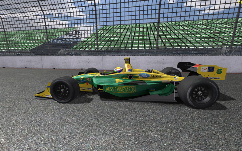 IDT Champ Car Mod for rFactor - No Aids Racing